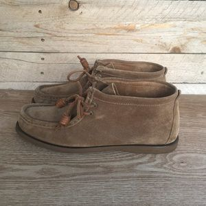 Sperry Top Spider by Jeffrey Sedona suede boots